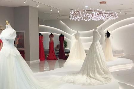 坤霓婚纱店铺图