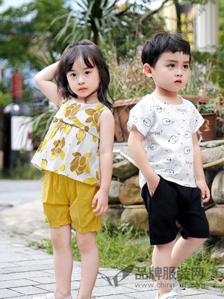 班吉鹿童装品牌2019春夏纯棉卡通可爱休闲上衣童装