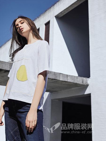 娅铂・周末女装品牌2019春季新款韩版修身显瘦