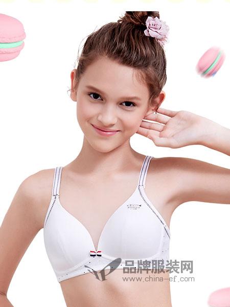 百伶百俐内衣品牌2019春季文胸发育期初中生胸罩