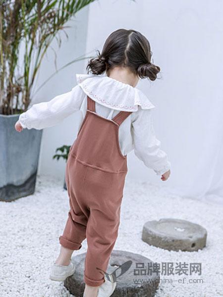 安米莉童装品牌2019春季韩版洋气两件套