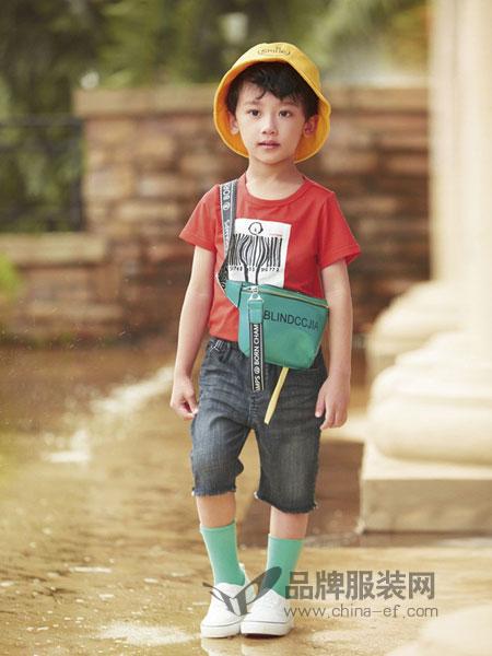 玛宝乐童装品牌2019春夏儿童牛仔裤童装休闲中裤中大童男孩七分裤薄款