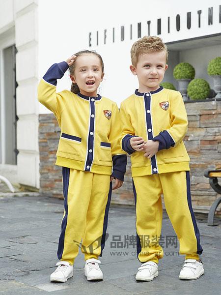 小丘比童装品牌2018秋冬校服班服儿童棒球服