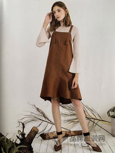 你即永恒女装品牌2019春季新款韩版宽松显瘦气质无袖鱼尾裙子