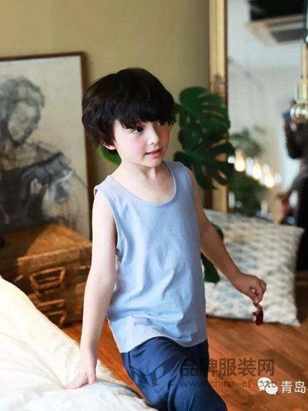小博士童装品牌2019春季儿童中大童运动吊带无袖打底白色薄款纯棉背心