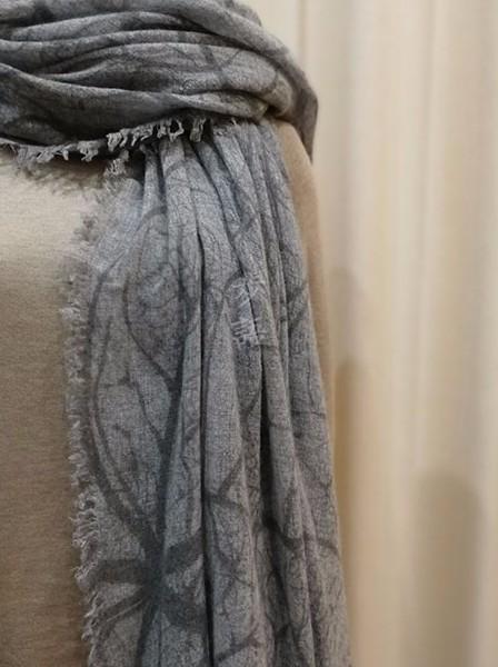 �i语羊绒围巾