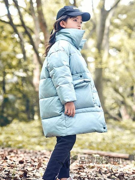 童年领域童装品牌2018秋冬加厚棉衣面包服外套潮