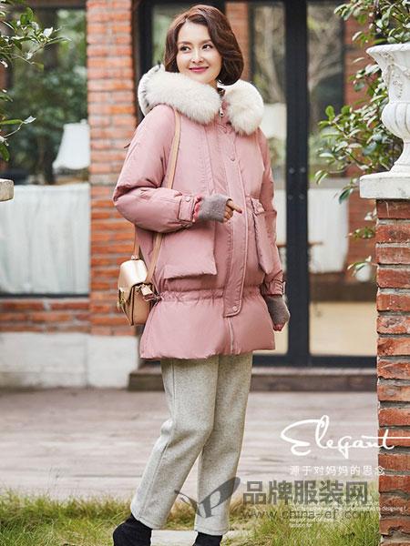 千百怡恋女装品牌2018秋冬气质时尚保暖白鸭绒羽绒服