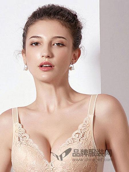 雪妮芳yabosport品牌2018秋冬聚拢调整型文胸无钢圈无痕胸罩