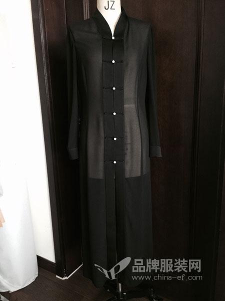 本颜女装品牌2019春季韩版雪纺裙套装两件套裙子显瘦长裙