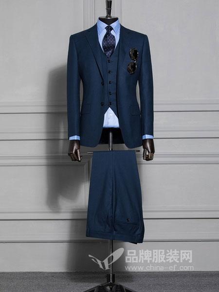 雷尼德LENDYE男装品牌2018秋冬英伦个性修身外套