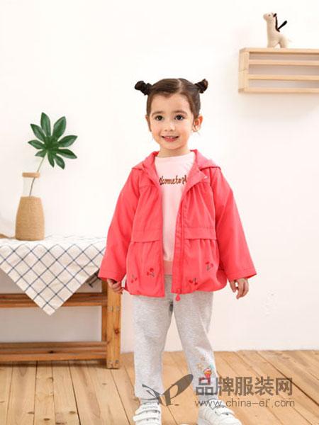 棉果果童装品牌2019春季新款中小童夹克外套