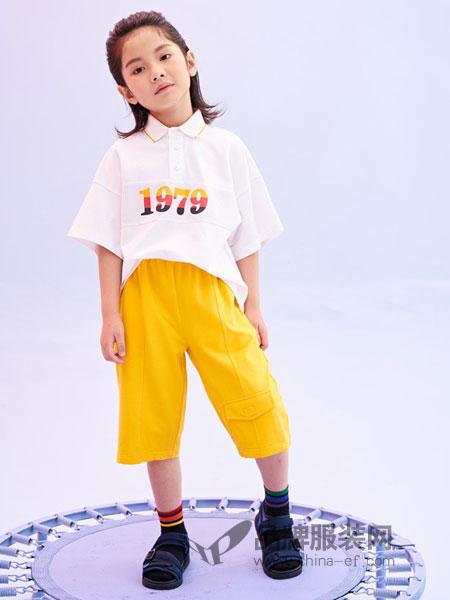 infkids童装品牌2019春夏新款套装裤子宽松韩版百搭
