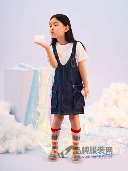 infkids童装品牌2019春夏包臀短裙一步裙a字裙
