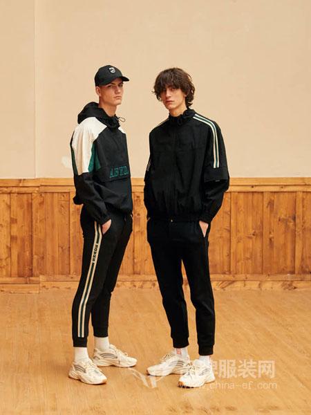 GRSAGA男装品牌2019春季韩版潮流修身帅气上衣运动