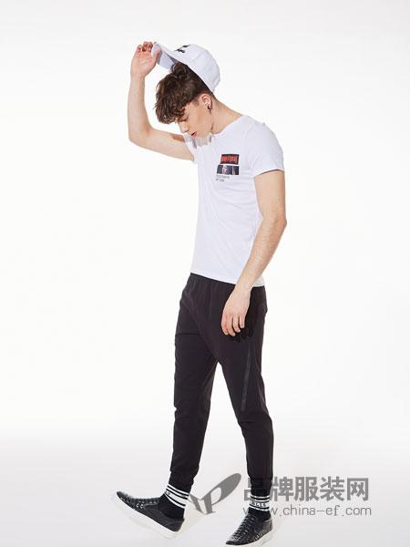 ZENL佐纳利男装品牌2019春夏运动长裤男士松紧腰休闲裤运动裤