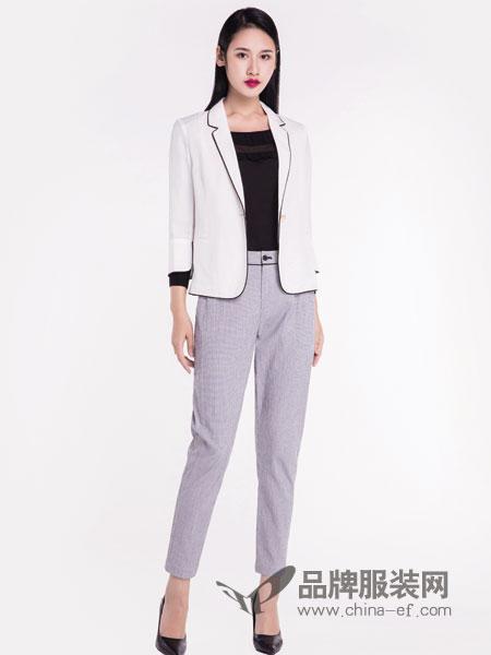 宝薇女装品牌2019春季新品时尚韩版潮流个性白色休闲长袖外套