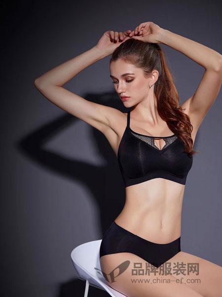 玫瑰春天内衣品牌2019春季无钢圈三角杯胸罩大胸显小文胸超薄款