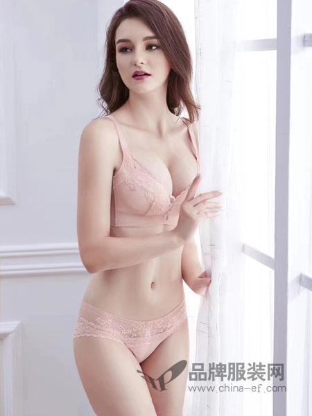 玫瑰春天内衣品牌2019春季无钢圈大胸调整型连带内衣乳白色黑色