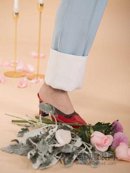 匠艺JY-JIANGYI鞋帽/领带品牌2019春季鞋子百搭粗跟单鞋