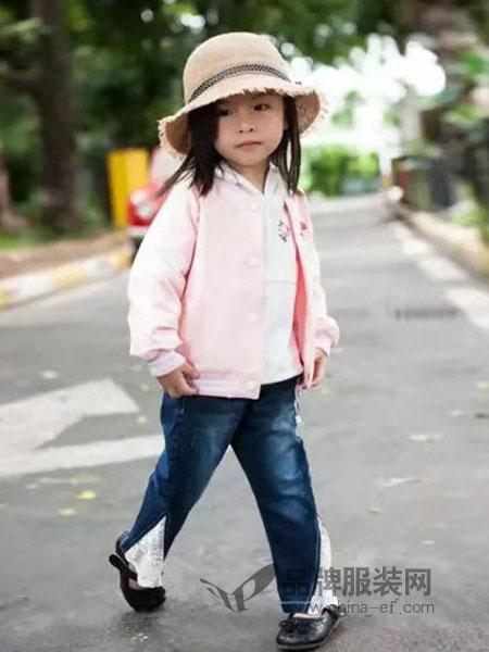 棉之子童装童装品牌2019春季时尚夹克外套百搭韩版修身外套