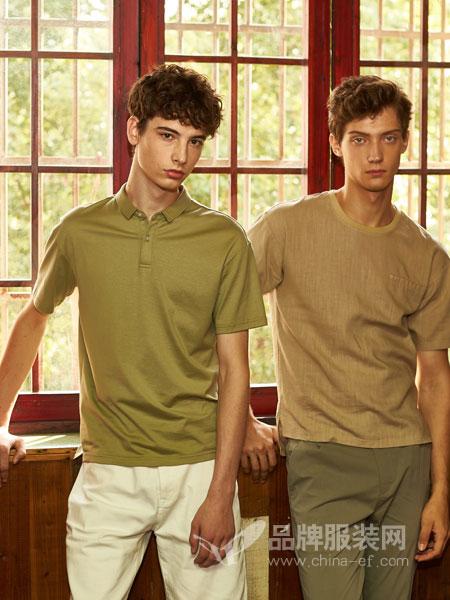 1943S男装品牌2019春夏新款短袖男 潮流男士圆领上衣 男士t恤短袖