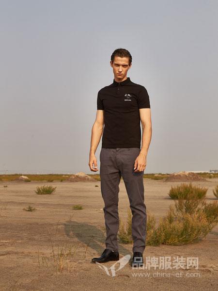1943S男装品牌2019春夏短袖休闲复古英伦T恤
