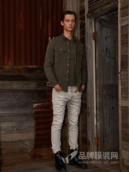 1943S男装品牌2019春夏新款时尚韩版修身休闲棒球领短款