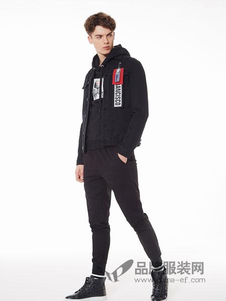 佐纳利男装品牌2019春夏新品修身韩版牛仔外套潮流外穿长袖上衣帅气夹克