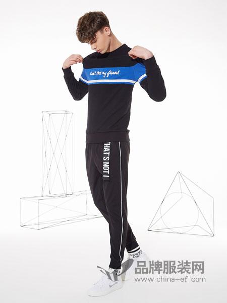 佐纳利男装品牌2019春夏运动衣男运动装跑步两件套
