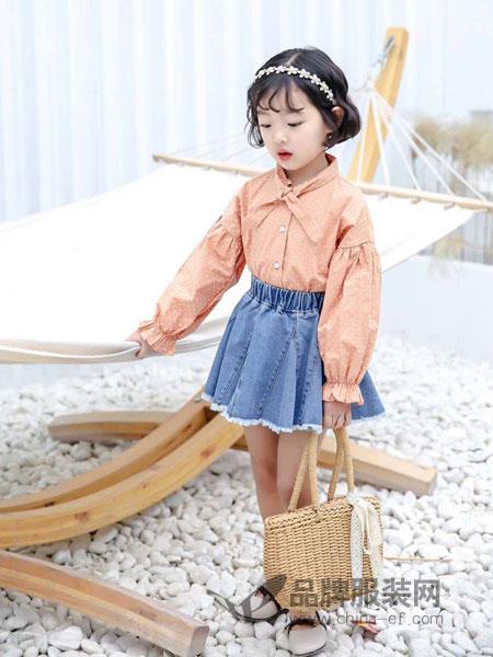 奇妙城堡童装品牌2019春季新款韩版童装衬衣儿童休闲打底衫