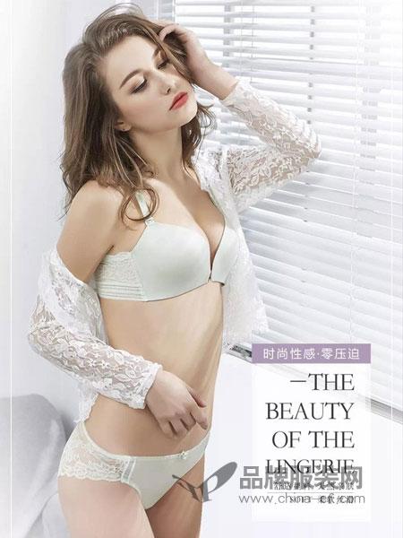 菲维丝汀内衣品牌2019春季带薄模杯三角杯蕾丝性感内衣女文胸