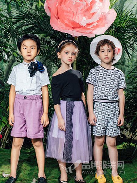 瑞比克童装品牌2019春季男童时尚休闲背带裤