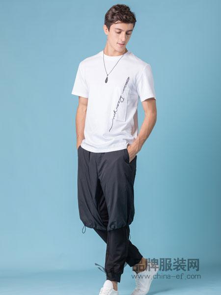 它钴TARGUO男装品牌2019春季 时尚男士简约短袖T恤