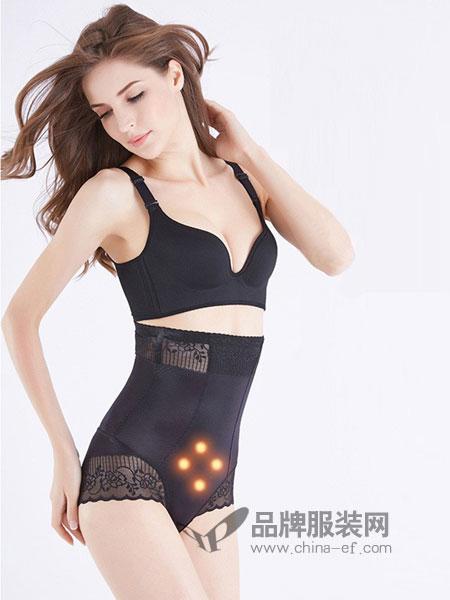 嫏之孕内衣品牌2019春季连体塑身衣磁疗瘦身提臀收腰收腹束身衣