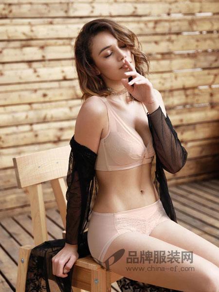 姐妹花内衣品牌2019春夏蕾丝舒适文胸罩聚拢调整型收副乳内衣