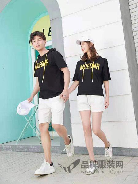 52017亲子情侣品牌2019春季新款潮流帽T卫衣
