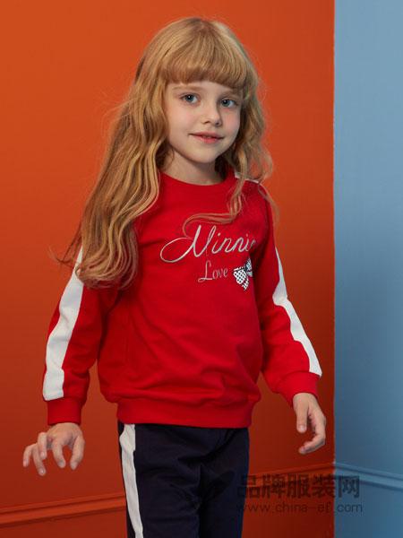 迪士尼宝宝/迪士尼童装品牌2019春季新款洋气长袖套洋气两件套