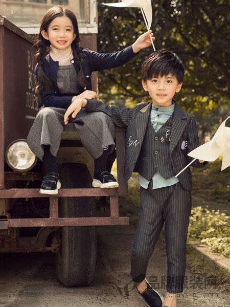 两个小朋友童装品牌新款韩版百搭洋气外套男女