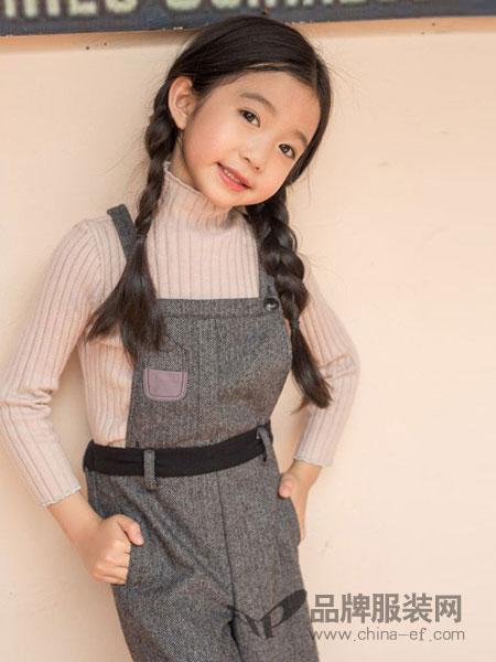 两个小朋友童装品牌单件/套装可选秋季背带裤套装吊带裤连体裤两件套