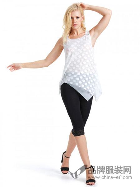 丹丽丝一族女装品牌新品简约桑蚕丝白色吊带无袖连衣裙