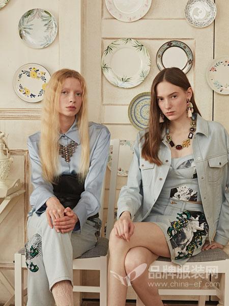 衣全球女装品牌2019春夏新款大码纯棉牛仔衬衫女长袖修身显瘦学生衬衣薄外套女
