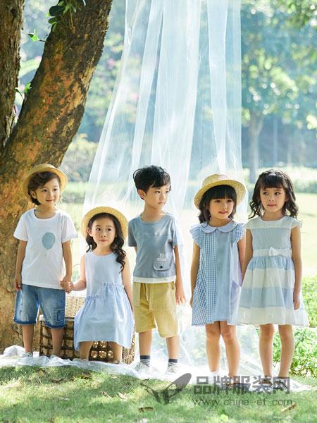 小猪宾果童装品牌2019春季新款男女童短袖T恤衫白色印花