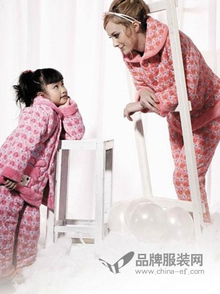 月亮堡内衣品牌2019春夏学生清新可爱家居服