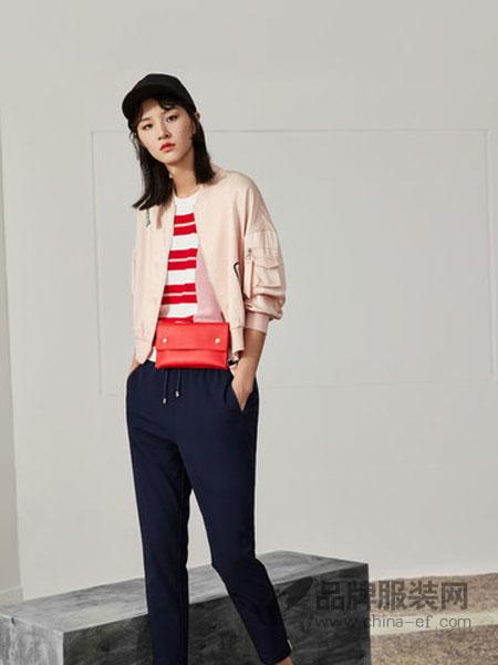 念奴娇女装品牌2019春季休闲夹克女短外套宽松可爱学生韩版上衣