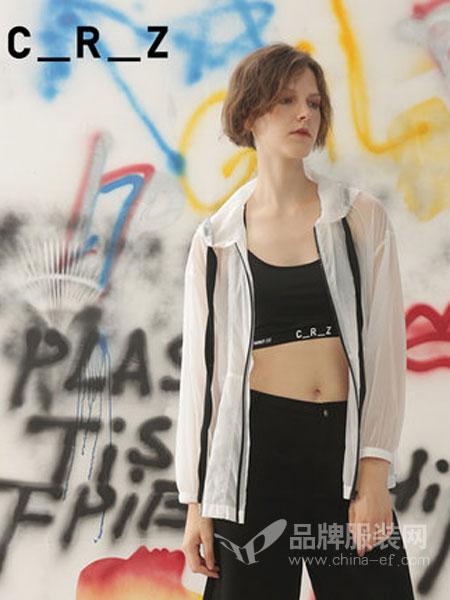 CRZ潮牌女装品牌2019春夏新款轻薄微透松紧袖口风衣外套