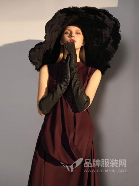 ZAIN形上女装品牌2019春夏新款韩版修身显瘦无袖连衣裙女