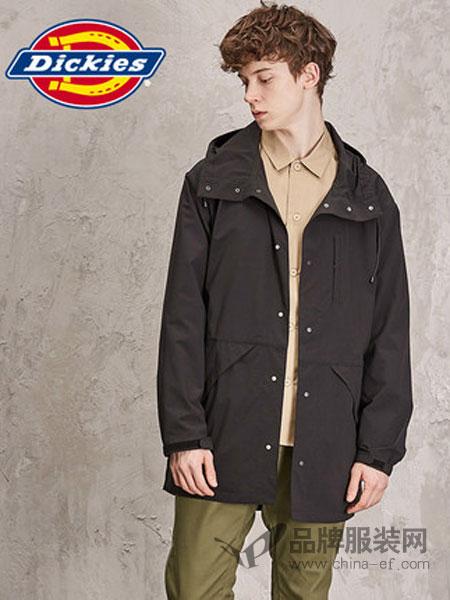帝客休闲品牌2019春季新款可收纳便携长款连帽夹克休闲薄外套