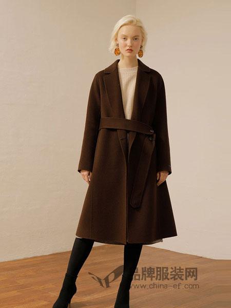 ON&ON女装品牌新款直发毛呢大衣