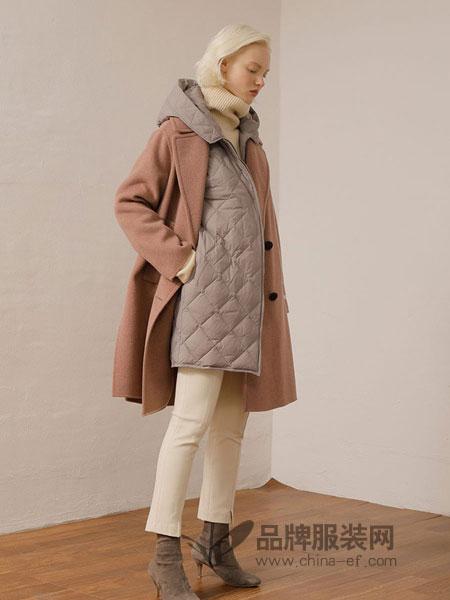 ON&ON女装品牌新款好搭100%白鸭绒羽绒服保暖显瘦